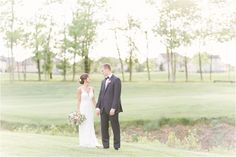 Rachael & Nick Pinnacle Golf Club Wedding | Columbus Ohio Wedding Photographer | Leigh Elizabeth Photography