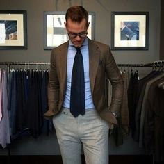 We are a Jacksonville's based Home For Men's Style Advice. Our goal is to help American men dress better and make our hometown of Jacksonville, Florida a style capital of the U. Brown Sport Coat, Weekly Outfits, Mens Fashion, Fashion Outfits, Cool Outfits, Suit And Tie, Well Dressed Men, Gentleman Style, Stylish Men