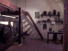 Antigua tienda de venta de aceite y vino