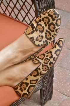 Steve Madden cheetah loafers....  I just might have to get me a pair!!!