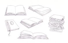 drawing_books__a_study_by_nevermore_ink-d3kntx7.jpg 900×575 pixels
