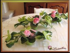 Printing Videos Architecture Home Printing Ideas Useful White Flower Arrangements, Candle Arrangements, Flower Arrangement Designs, Wedding Arrangements, Flower Centerpieces, Flower Vases, Flower Decorations, Flower Designs, Art Floral