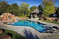 Wouldn't it be great to have this #freeform pool design in your back yard? #swimmingpool #pools #BarringtonPools