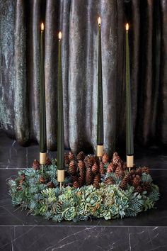 Our magazine, BO BEDRE, has published our yearly big christmas edition. You'll find inspiration for christmas decoration like this, Christmas Advent Wreath, Hygge Christmas, Christmas Yard, Rustic Christmas, Red Christmas, Christmas Decorations, Xmas, Holiday, Christmas Trends