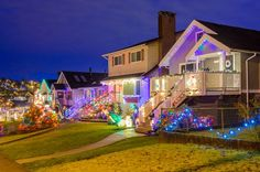 The beautiful holiday is coming. Decorate our home porch and courtyard with colorful waterproof LED strip lights. Strip Lighting, Outdoor Lighting, Home Porch, Something New, Just For Fun, Beautiful Landscapes, Lawns, Lights, Led Strip