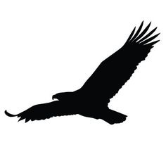 Latest Eagle Tattoos Ideas With Meanings Silhouette Aigle, Vogel Silhouette, Animal Silhouette, Silhouette Design, Silhouette Images, Bald Eagle Tattoos, Up Tattoos, Wolf Tattoos, Animal Tattoos