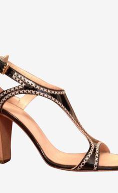 Giuseppe Zanotti Black/Tan Sandal