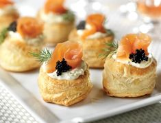 New Ideas Bridal Brunch Food Appetizers Smoked Salmon Brunch Recipes, Appetizer Recipes, Brunch Food, Brunch Ideas, Dill Salmon, Salmon Roe, Pepperidge Farm Puff Pastry, Easter Appetizers, Cocktail