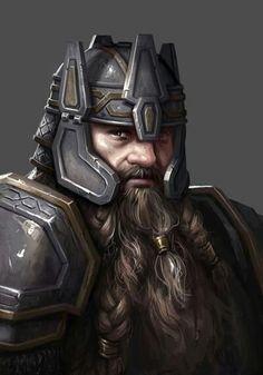 Dwarf Warrior/Anão Guerreiro