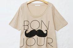 moustache - Click image to find more Women's Fashion Pinterest pins