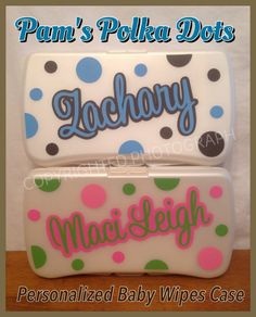 Personalized wipes case wipes case adhesive vinyl and adhesive negle Choice Image