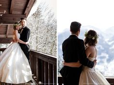 winter wonder wedding. A wedding inspiration in the Austrian Alps.  by marialuisebauer