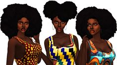 EbonixSims creates custom content for The Sims to fulfill your ethnic and urban content needs. Providing hairstyles, accessories, clothing and more for sims of colour. Sims 4 Cc Skin, Sims Cc, Ethnic Hairstyles, Afro Hairstyles, Sims 4 Afro Hair, Lolita Hair, Lolita Goth, Sims 4 Black Hair, Curly Hair Styles