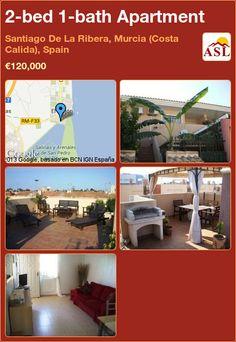 2-bed 1-bath Apartment in Santiago De La Ribera, Murcia (Costa Calida), Spain ►€120,000 #PropertyForSaleInSpain