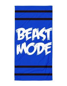 Beast Mode – Beach Blanket