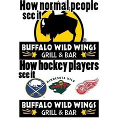 My first trip to Bdubs was in Athens for a hockey tourney lol.. so this makes sense to me AT