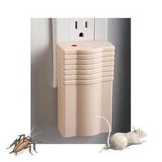 Electronic Pest Control Chase away rats, mice and roaches without chemicals.