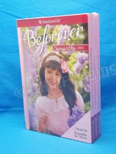 American-Girl-Beforever-Samantha-1934-Box-Set-3-Books-Manners-Mischief-New