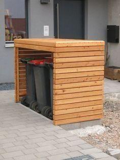 Mülltonnenbox fertig #OutdoorsLiving