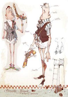 Sylvain Marc, animador, ex alumno de Les Gobelins. Sus habilidades de diseño de personajes son de clase mundial, como se puede ver en su proyecto de animación 3D, Cocotte Minute (co-dirigido con otras 5 personas) http://www.cocotteminute.net/