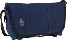 Timbuk2 Classic Messenger Bag Waxed Canvas S Navy Waxed - Notebooktasche   Tablet