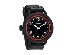 Reloj Nixon The October All Black / Red Negro Hombres| TwoDosJoyas.com