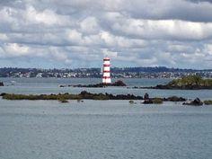 Lighthouse on Rangitoto Island, NZ