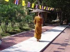 Image result for walking meditation theravada