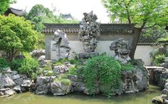 The Yu Garden - or Shanghai Yuyuan - was a private garden during the Ming Dynasty, first constructed in 1559.