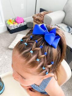 Easy Toddler Hairstyles, Cute Little Girl Hairstyles, Cute Girls Hairstyles, Hairstyles Haircuts, Q Hair, Girl Hair Dos, Hair Upstyles, Hair Beauty, Long Hair Styles