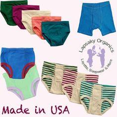 Lapsaky - Kids Organic Underwear & Training Pants - Made in USA!