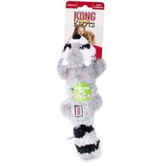KONG SCRUNCH KNOT RACCOON DOG TOY - BD Luxe Dogs & Supplies