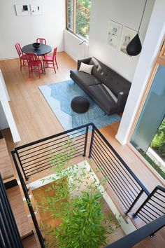 HGTV Fresh Faces of Design - Big City Digs: Tall, Artistic Modern Home by Joe Malboeuf & Tiffany Bowie >> http://www.hgtv.com/design/fresh-faces-of-design/2015/big-city-digs?soc=pinterest