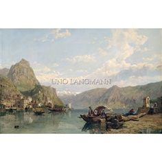 Lake Como by George Clarkson Stanfield