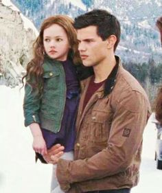 Breaking Dawn part 2 ~ Jacob and Renesmee