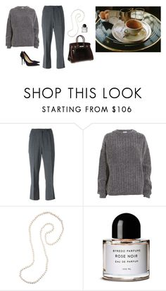 """""""Untitled #344"""" by inlateautumn ❤ liked on Polyvore featuring John Galliano, Acne Studios, Hermès, Gabrielle Sanchez, Byredo and Jimmy Choo"""