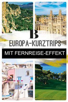 Kurzreisen: 10 Kurztrips in Europa mit Fernreise-Effekt! Shoppen, wandern, von Insel zu Insel hüpfen? Zehn tolle Kurztrips in Europa, bei denen ihr euch ganz weit weg fühlt. Versprochen! Procida, Italien, Kroatien, Madrid,  Bayern und Co.