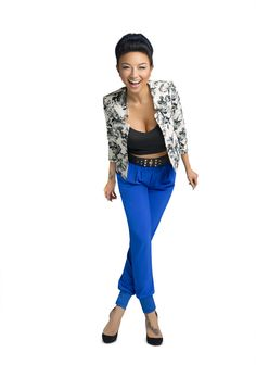 This girl knows how to make a statement! REPIN if you love Jeannie Mai! #StylePop