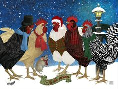 Rooster_Carolers