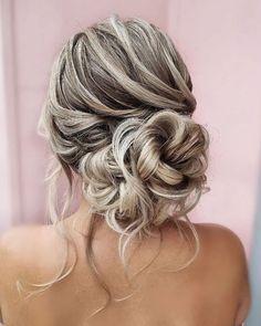 Wedding Updos Ultimate Guide - Most Trendy Ideas For 2021/2022 ❤ wedding updos elegant curly volume bun hairbyhannahtaylor #weddingforward #wedding #bride #weddinghair #weddingupdos #bridalhair