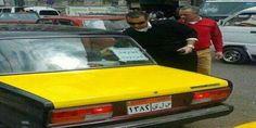 """محلي  الإسكندرية : ضابط مرور يقوم بنزع لافتات """"إسلامية"""" من السيارات"""