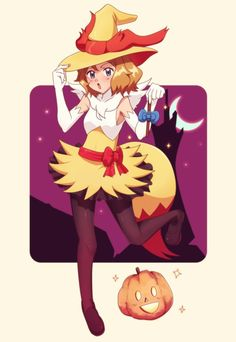 "For Halloween 2016. Done it faster than I realized. Costume is somewhat based on ""Serena's Braixen costume"" (hitsuji02.deviantart.com/art/S…) as done by hitsuji02 because I believed it ..."