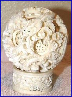 Stone Carving, Balls, Candle Holders, Asia, Puzzle, Ivory, Chinese, Candles, Pretty