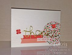 Stampin' Up! - Crazy About You, Hello You Thinlits, Gold Soiree DSP, Pinkies Bloghop - ZoKris
