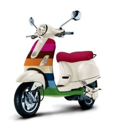 2007 limited edition Vespa LX 50 designed by Gap