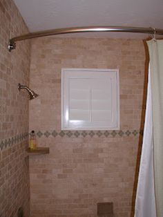 Shower Windows And Vinyl Shutters Give Full Privacy Water Proof Benefits