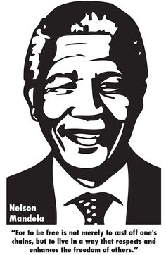 madiba. One of my favourite quotes