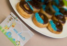 Boys Jungle Themed First Birthday Food Ideas