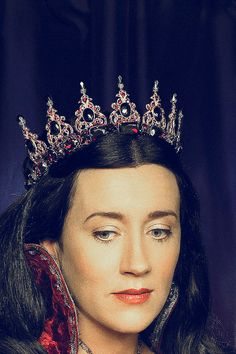The Tudors: Catherine of Aragon portrayed by Maria Doyle Kennedy