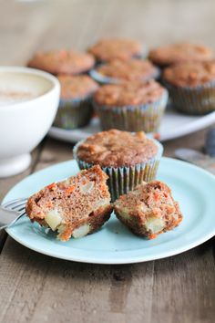 Apple Spice and Carrot Muffins